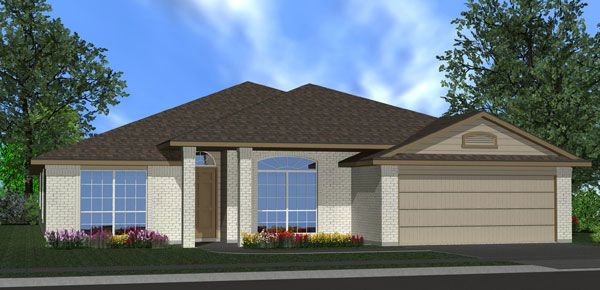 Killeen TX Homes The Silver Bell Plan Elevation M
