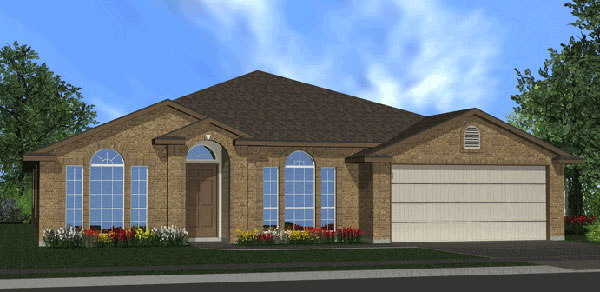 Killeen TX Homes The Silver Bell Plan Elevation O