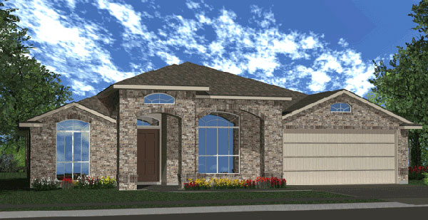 Killeen TX Homes The Silver Bell Plan Elevation P