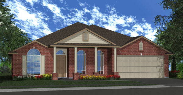 Killeen TX Homes The Silver Bell Plan Elevation Q