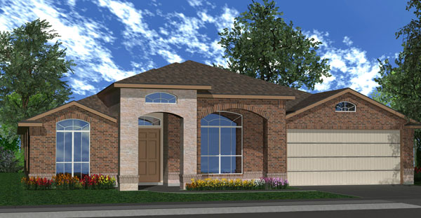 Killeen TX Homes The Silver Bell Plan Elevation W
