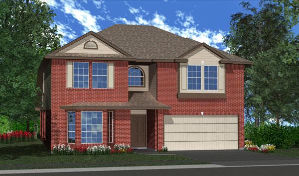 Killeen TX Homes Jasmine Plan Elevation L