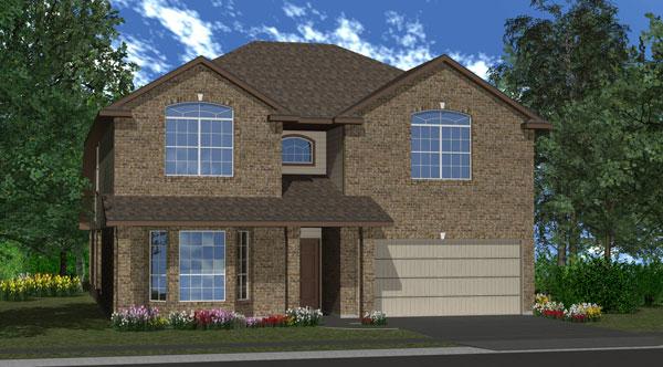 Killeen TX Homes Jasmine Plan Elevation M