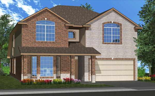Killeen TX Homes Jasmine Plan Elevation W
