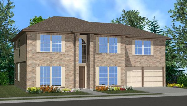 Killeen TX Homes Wren Plan Elevation K