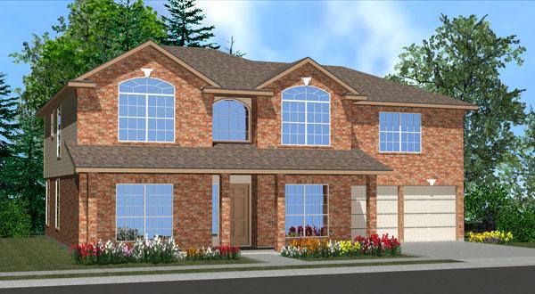 Killeen TX Homes Wren Plan Elevation M