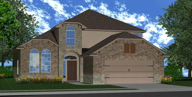 Killeen TX Homes The Espera Plan Elevation X