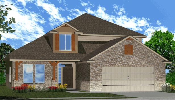 Killeen TX Homes Espera Plan Elevation Y