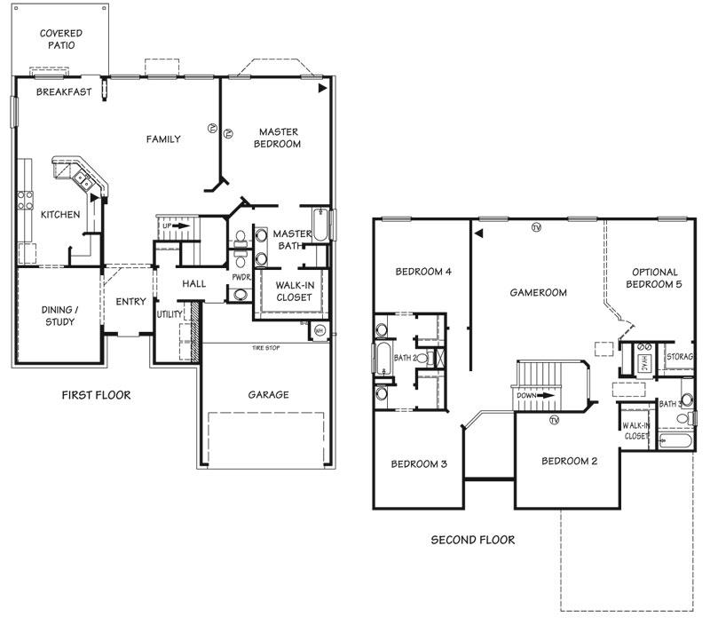 Killeen TX Homes Regency Floor Plan