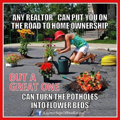 When Life gives you Potholes, Plant Flowers!