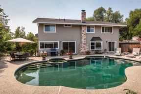 Los Gatos CA Residential Sold: $2,400,000