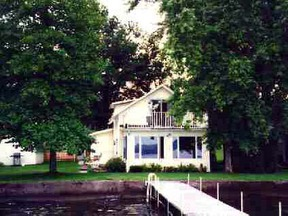 Single Family Home Lake front Homes: 144 West Lake Road