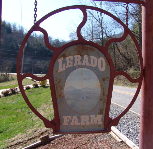 Welcome to Lerado Farm!  100 East Fork Road Franklin NC