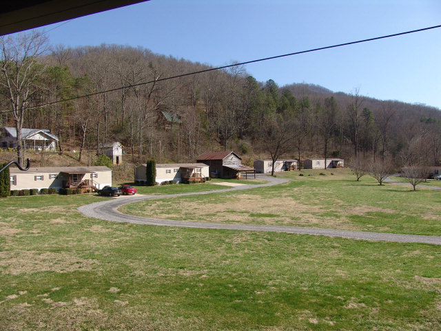 Nine mobile home rental units, commercial property, Sylva NC