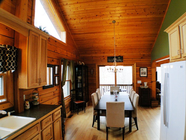 Entertain in style in this amazing room!  Smokey Mountain Properties for Sale