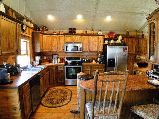 Gorgeous kitchen, central Heat/Air, decks galore and a metal roof, Franklin NC MLS