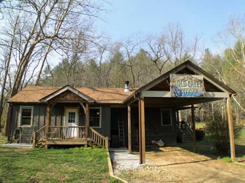 The 2 bedroom 2 bath cabin cottage, Franklin NC Real Estate, Franklin NC Homes for Sale