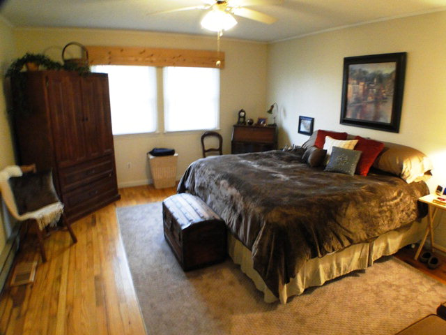 One of three nice bedrooms, John Becker, Bald Head, Franklin NC