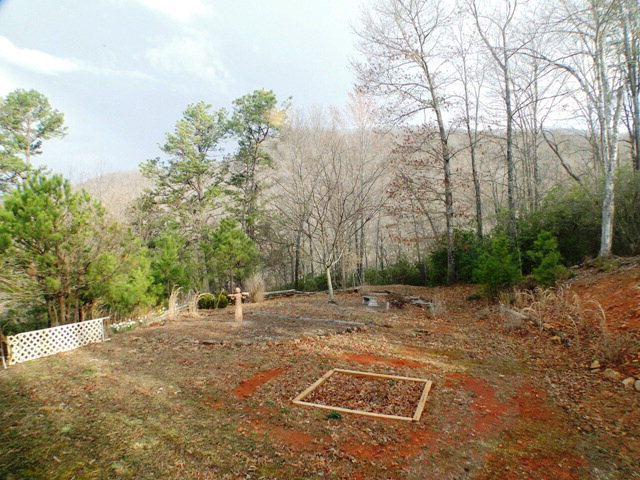 Your garden spot is ready for planting!  Franklin NC Homes for Sale