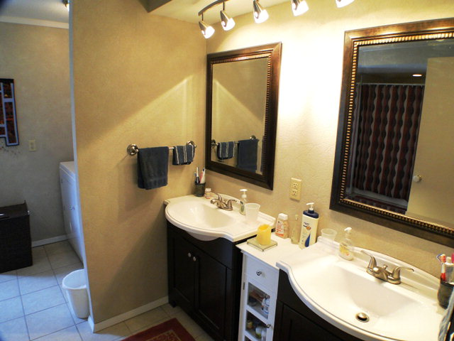 There are two updated baths, this master bath is HUGE!  Keller Williams, Franklin NC