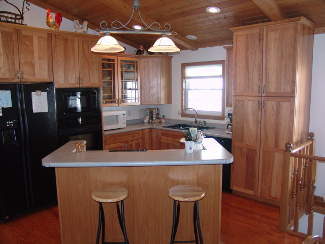 205 Lickskillet Road Franklin NC Real Estate, Franklin NC Home for Sale, Beautiful Open Kitchen