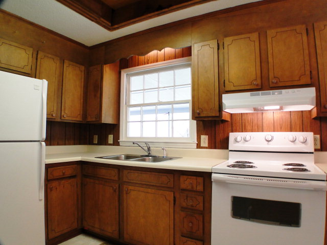 Newer appliances in this kitchen with lots of potential, Keller Williams Real Estate, Franklin Otto NC