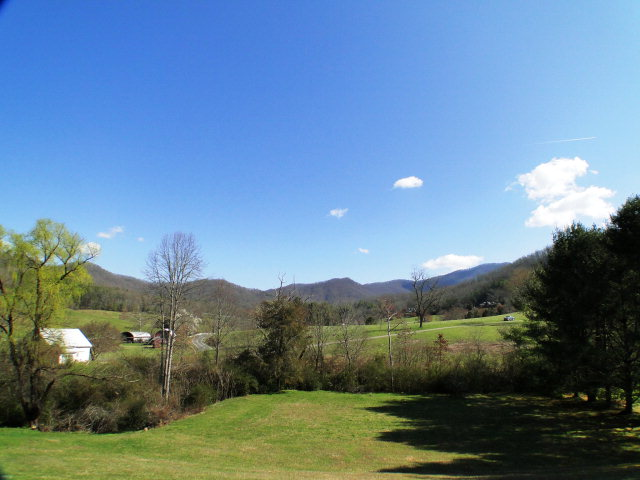 View, view, view!  And overlooking your 2 acres of usable rolling pasture land, Franklin NC Homes for Sale