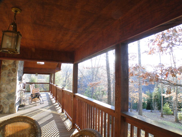 Large Covered Deck, Mountain Cabin, Free MLS Search Franklin, John Becker Bald Head