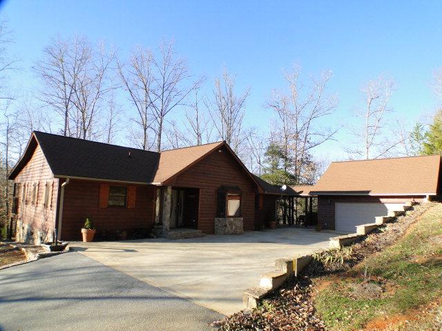 2 Car Garage with Bonus Room, 2311 Jack Cabe Road Franklin NC Real Estate, Franklin NC Homes for Sale