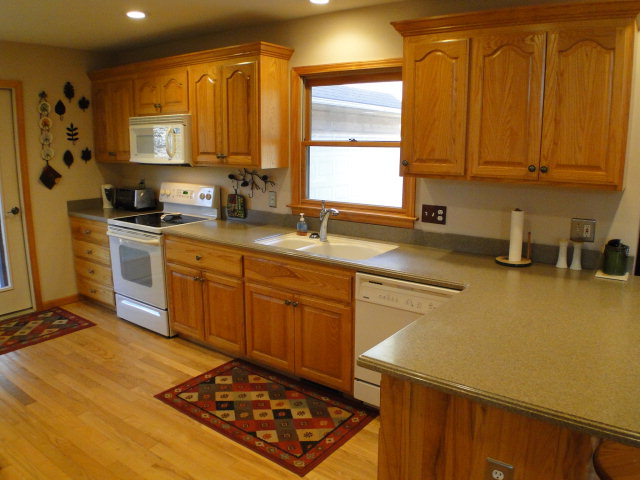 Spacious Kitchen with Corian Countertops, 2311 Jack Cabe Road Franklin NC Real Estate, Franklin NC Homes for Sale, Keller Williams