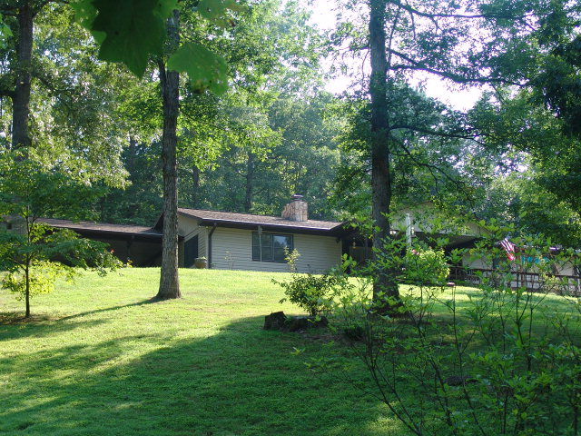 Attractive yard, gentle laying land... 241 Hidden Lane is a gorgeous property with pretty landscaping, 241 Hidden Lane Franklin NC Real Estate