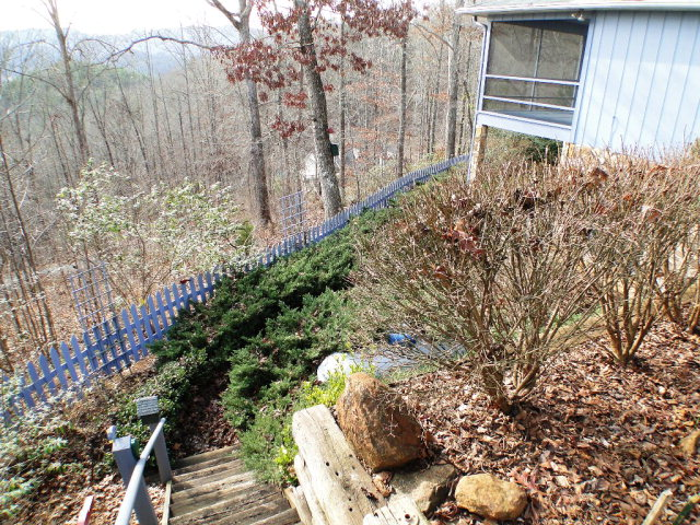 Great landscaping, 301 Maclor Forest Circle Franklin NC Real Estate, Franklin NC Free MLS Search, John Becker, www.baldheadtherealtor.com