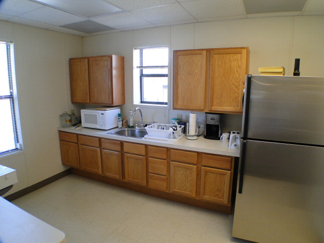 Employee break room, 310 Terrell Road Franklin NC Commercial Real Estate