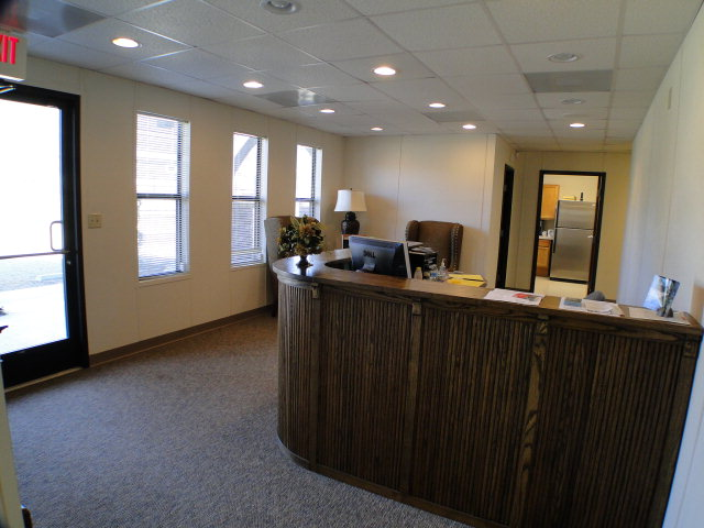 Reception area, Western North Carolina Commercial, Franklin Commercial, Keller Williams, John Becker Bald Head