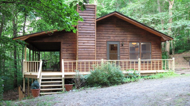 330 Jim Corbin Road - Franklin NC Real Estate - Mountain Cabin