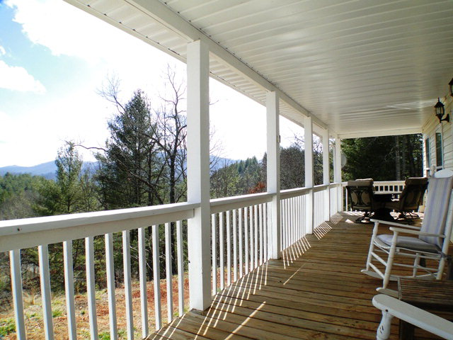 Amazing mountain views from your porch, Smokey Mountain Properties, Keller Williams