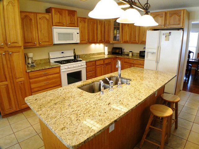 Granite counters and large pantry in your open kitchen, Franklin NC Free MLS Search