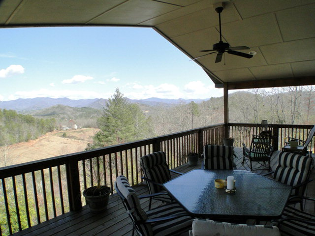 The perfect place to sip your morning coffee or entertain friends, Franklin NC Homes, Franklin MLS