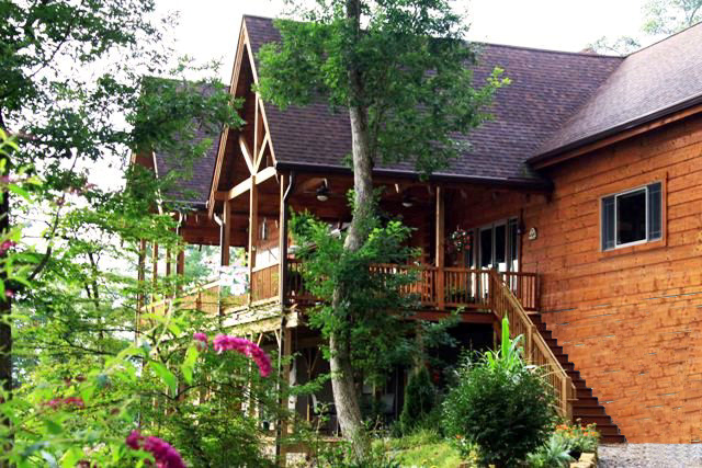420 Wild Turkey Run Otto NC - Franklin NC Real Estate - Ultra Luxury Home in the Mountains