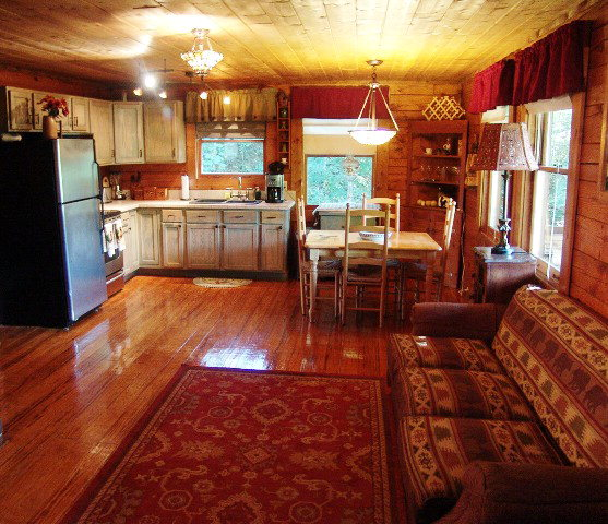 Impeccable design and tastefully done this log cabin has room for everyone, Franklin NC Homes for Sale, Franklin NC Log Cabin
