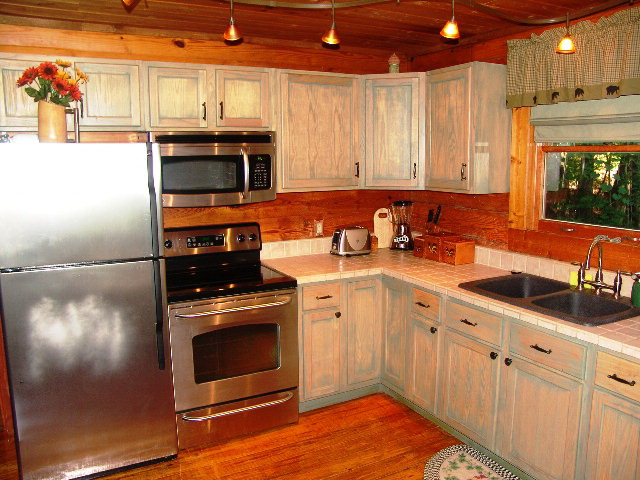 Newly remodeled kitchen with stainless steel apppliances, John Becker Bald Head, Keller Williams Realty