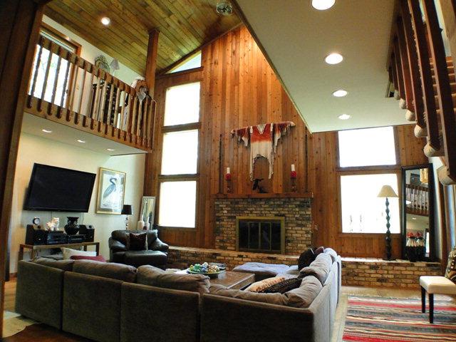 Gigantic vaulted ceilings, hardwood floors, skylights, fireplaces, Franklin NC Luxury Estate for Sale, Keller Williams Realty