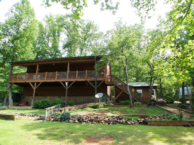 667 Lake Charles Road Franklin NC - Franklin NC Real Estate - Custom Mountain Home on Two Rolling Acres with View