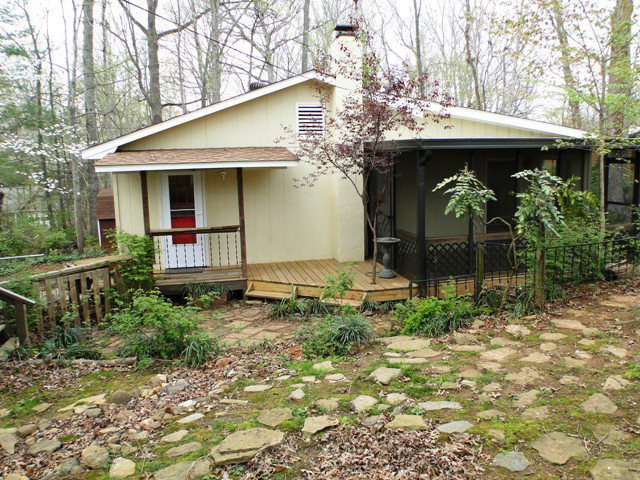 Easy-maintenance yard that's well landscaped, Franklin NC Real Estate
