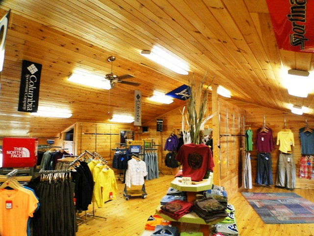 Current business is a successful outdoor outfitters shop, Franklin NC Businesses