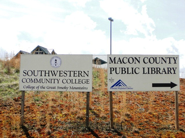 Southwestern Community College and Public Library, Franklin NC Commercial Property for Sale