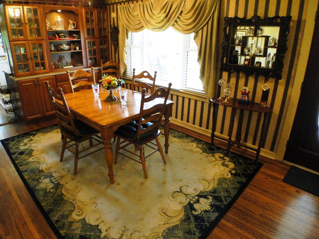 Beautiful formal dining room, Franklin Otto NC, Real Estate, Realty