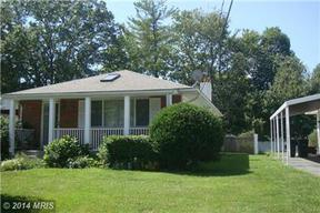 Single Family Home Sold: 6201 Auth Road