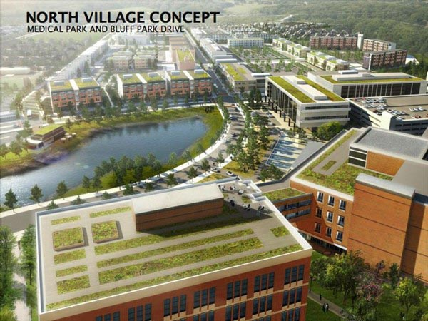 Chatham Park North Village Concept