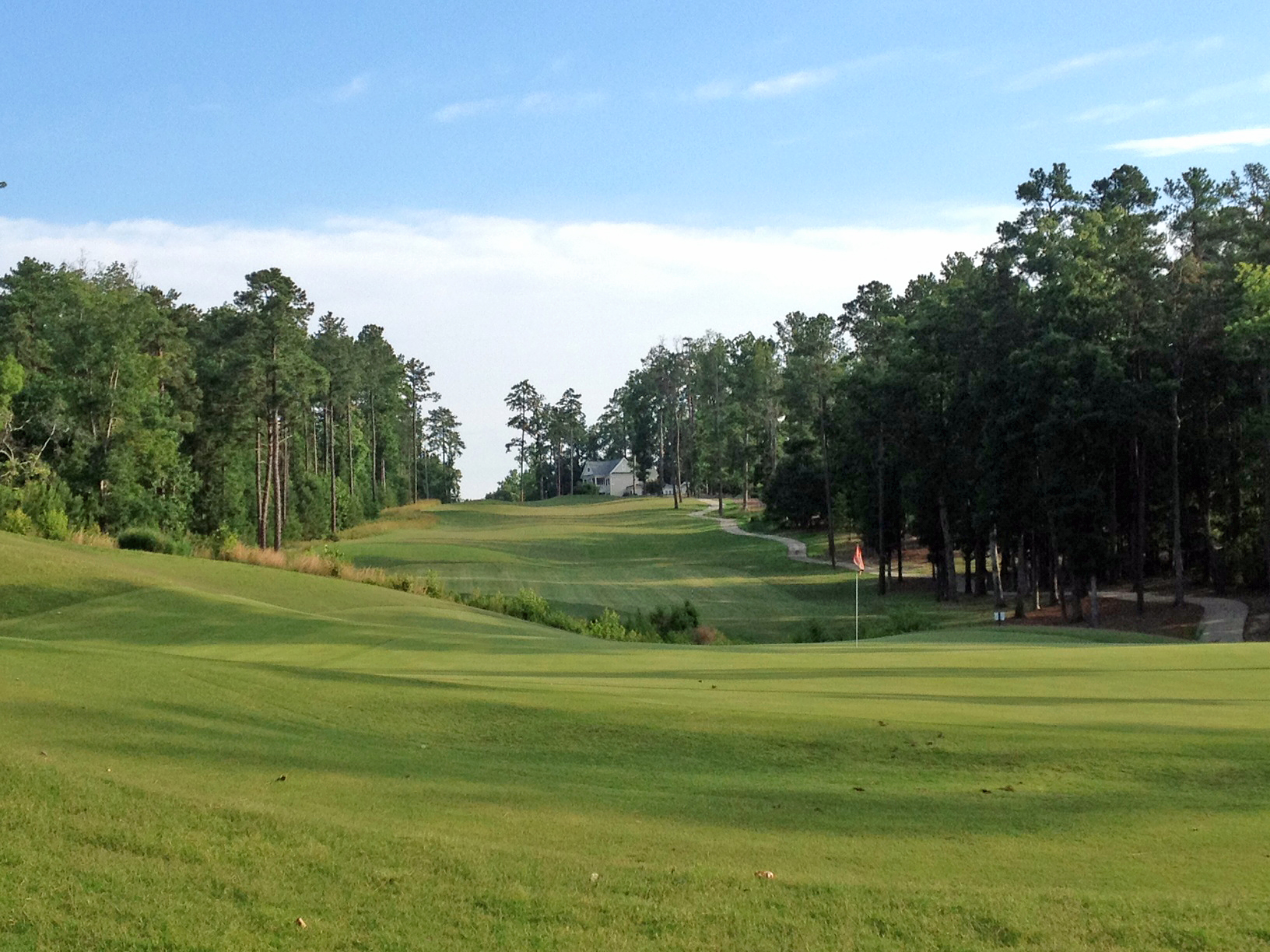 Golf Course in Preserve at Jordan Lake